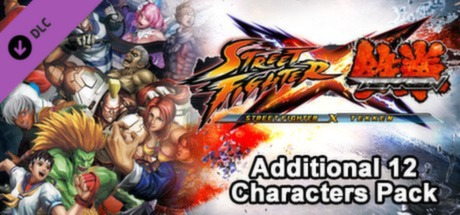 Купить Street Fighter X Tekken: Additional 12 Characters Pack (DLC)