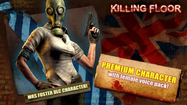 Killing Floor - Mrs Foster Pack (DLC)
