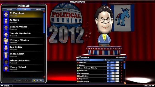 скриншот The Political Machine 2012 2
