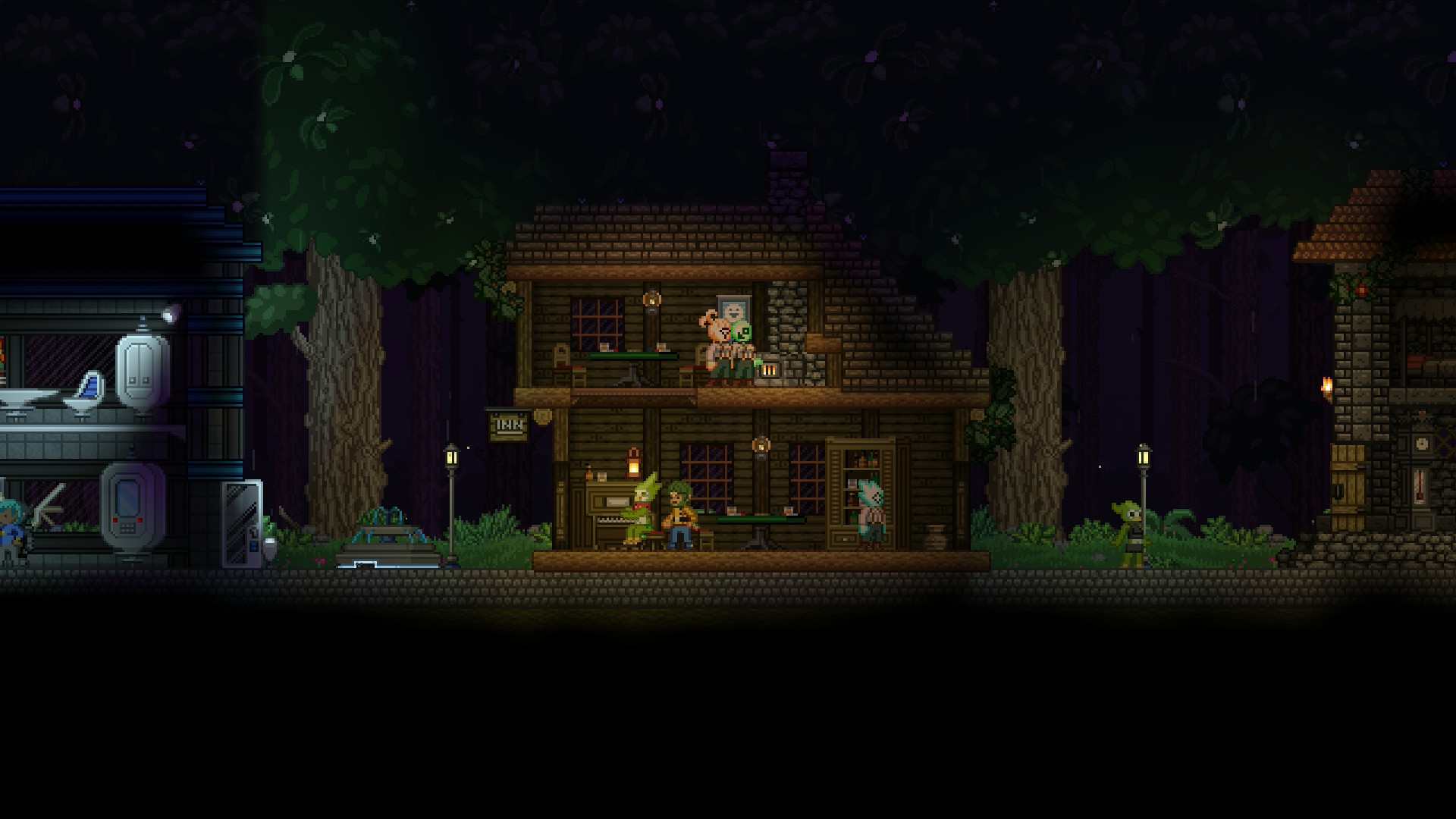 Starbound V7 - This robot is trained to fuck your mouth