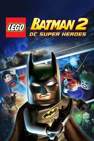 LEGO Batman 2: DC Super Heroes poster image on Steam Backlog