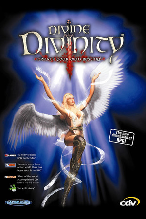 Divine Divinity poster image on Steam Backlog