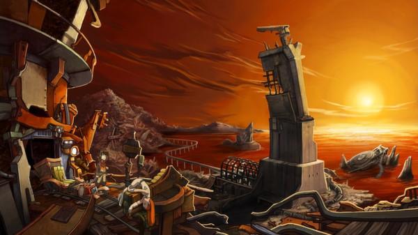 Скриншот из Deponia