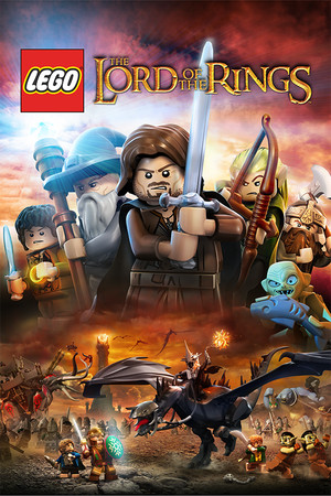 LEGO The Lord of the Rings poster image on Steam Backlog