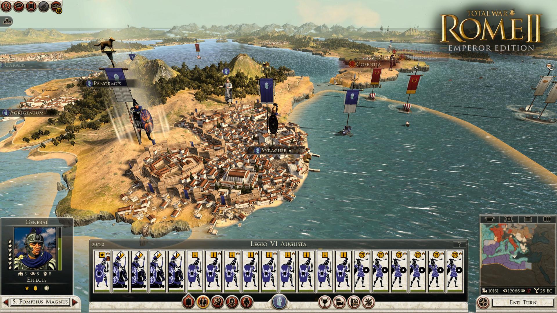 Total war: rome 2 emperor edition трейнер trainer +15 v2. 2. 0 build.