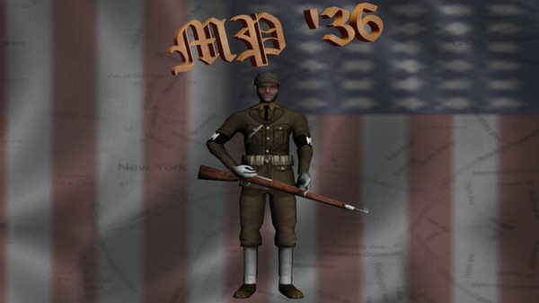 Hearts of Iron III: US Infantry Sprite Pack (DLC)