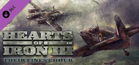 Купить Hearts of Iron III: Their Finest Hour (DLC)
