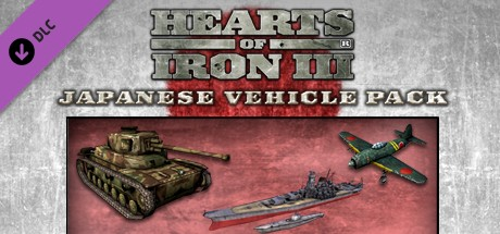 Купить Hearts of Iron III: Japanese Vehicle Spritepack (DLC)