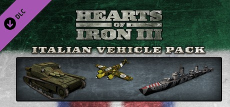 Купить Hearts of Iron III: Italian Vehicle Pack (DLC)