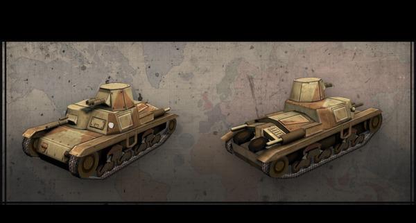 Hearts of Iron III: Italian Vehicle Pack (DLC)