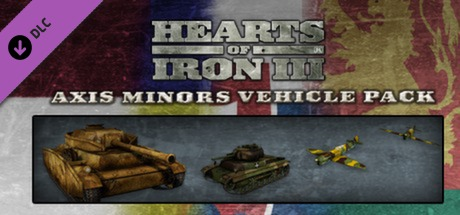 View Hearts of Iron III: Axis Minors Vehicle Pack on IsThereAnyDeal