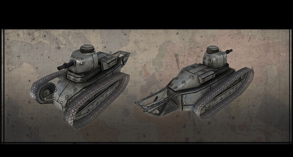 Hearts of Iron III: Axis Minors Vehicle Pack (DLC)