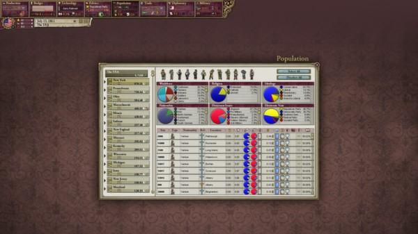 Victoria II: Songs of the Civil War (DLC)