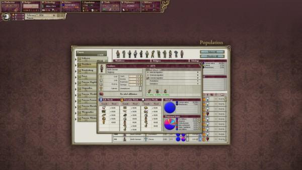 скриншот Victoria II: German Unit Pack 1