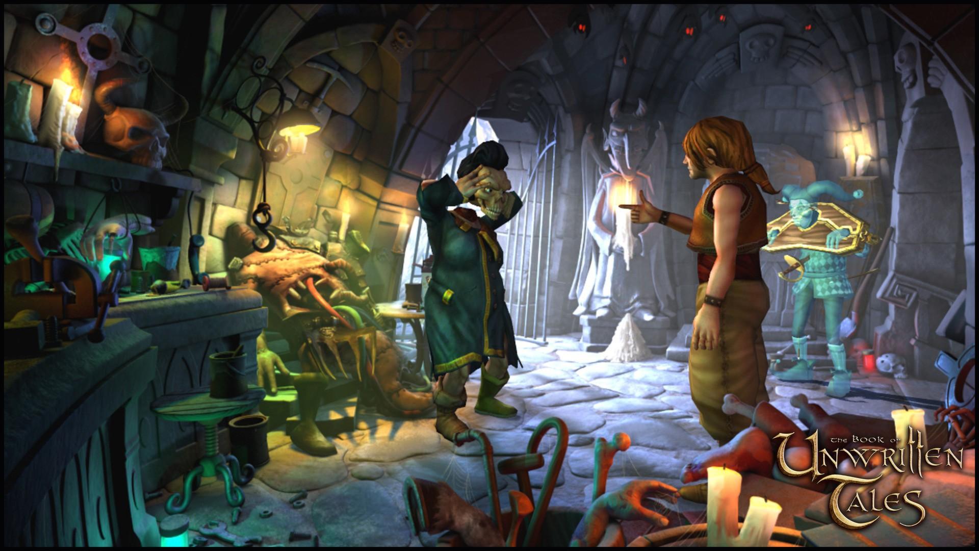 The Book of Unwritten Tales screenshot 2