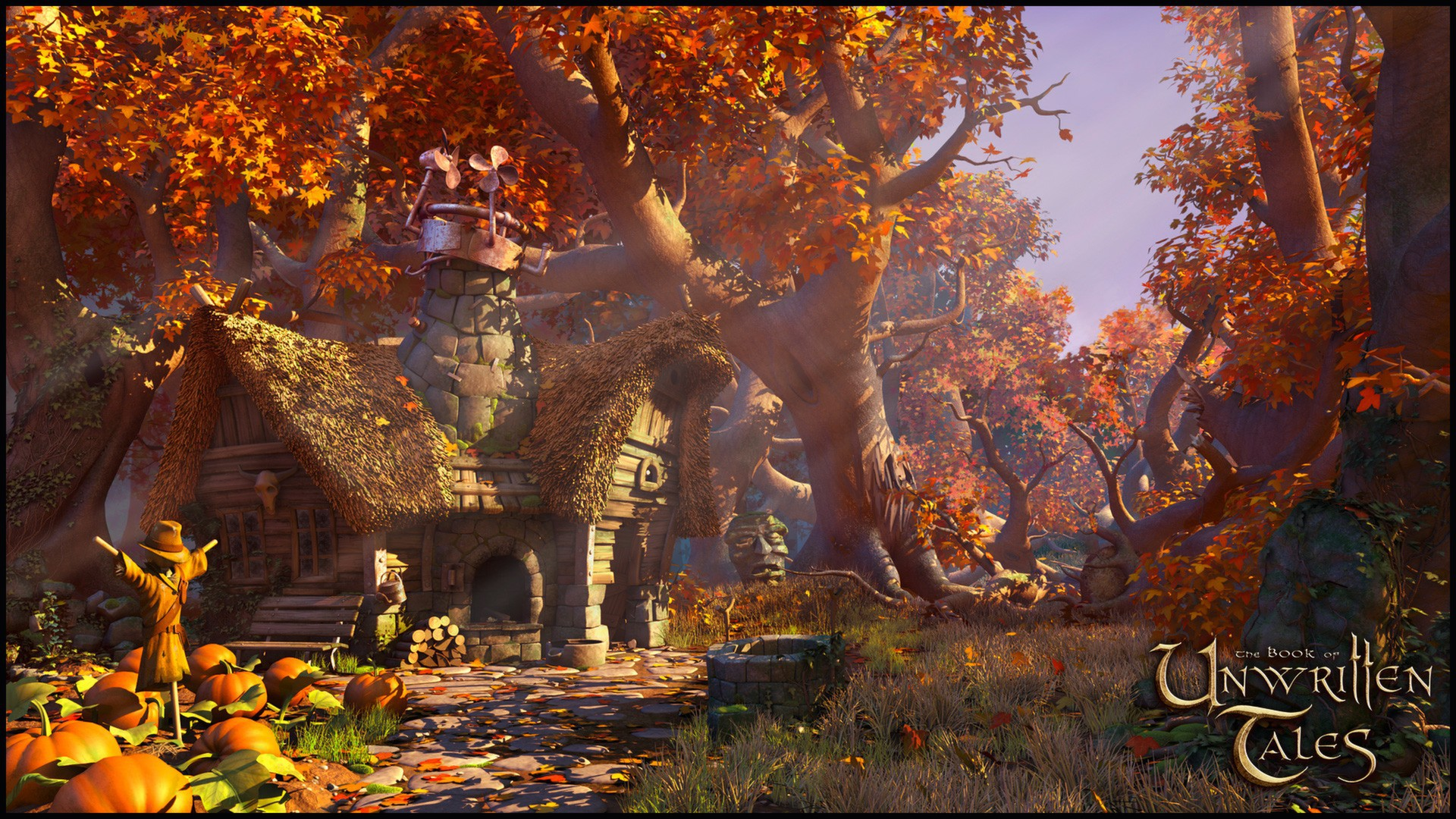The Book of Unwritten Tales screenshot 1