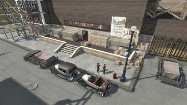 скриншот Omerta - City of Gangsters - Damsel in Distress DLC 4