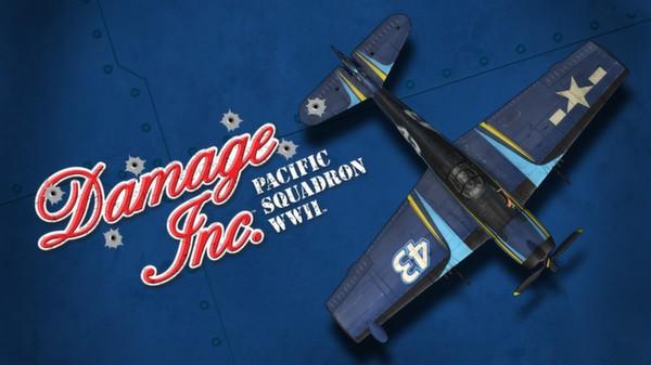 """Damage Inc F6F-5N """"Crusader"""" Hellcat (DLC)"""