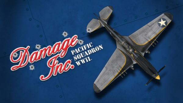 "Damage Inc P-40N ""Blackfin"" Warhawk (DLC)"