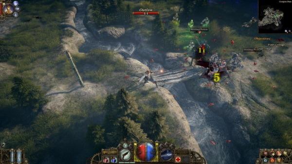скриншот The Incredible Adventures of Van Helsing 0