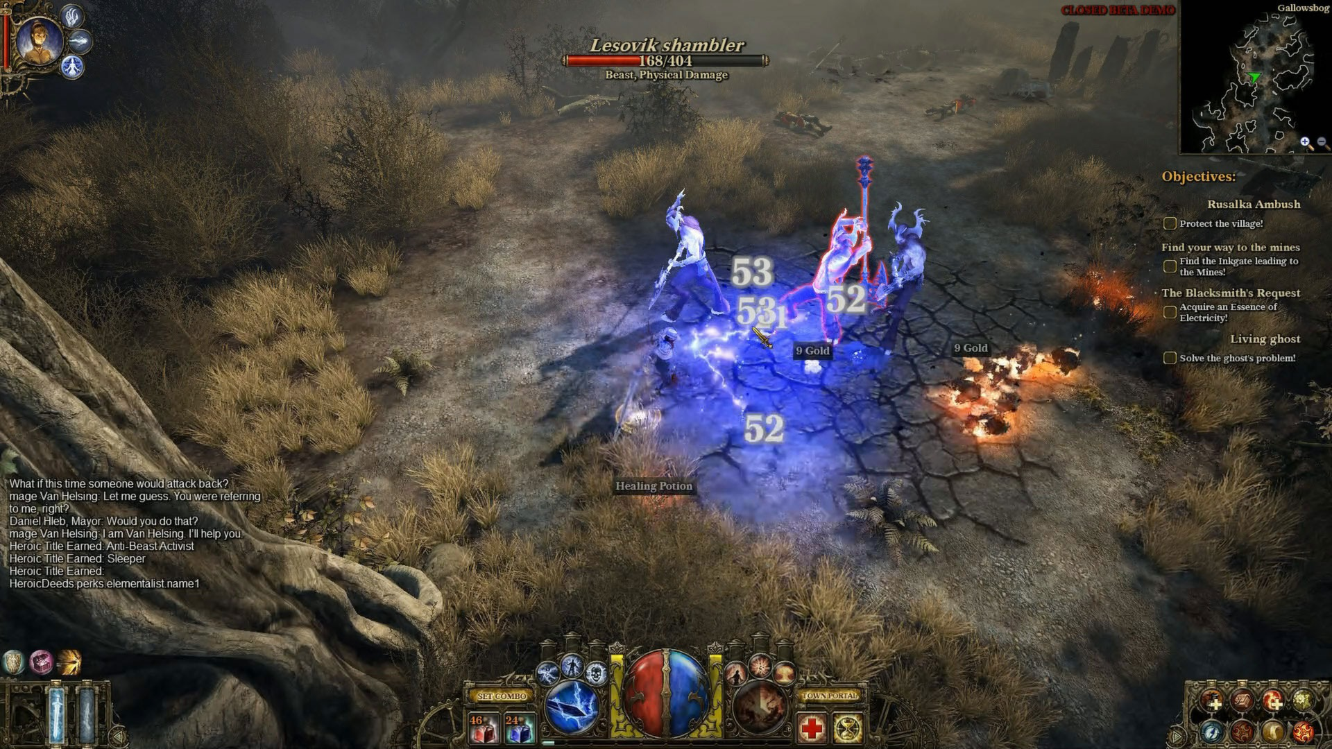 The Incredible Adventures of Van Helsing screenshot 1