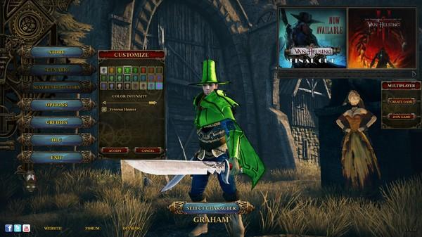 Van Helsing: Veteran Multiplayer Skin (DLC)
