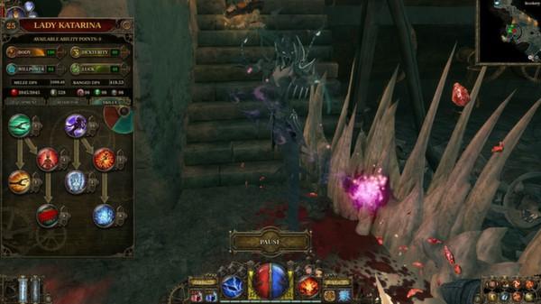 скриншот The Incredible Adventures of Van Helsing: Blue Blood 1