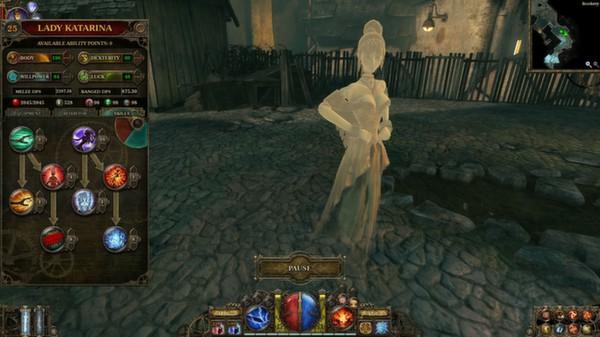 скриншот The Incredible Adventures of Van Helsing: Blue Blood 0