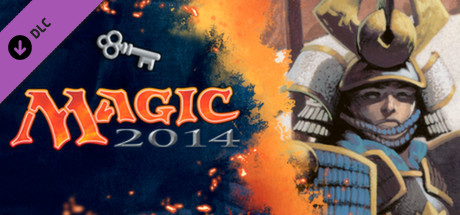 "Magic 2014 ""Sword of the Samurai"" Deck Key"