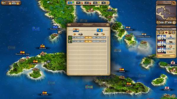Port Royale 3: Dawn of Pirates DLC