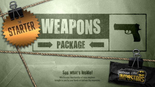 Gotham City Impostors Free to Play: Weapon Pack - Starter  (DLC)