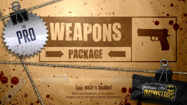 Gotham City Impostors Free to Play: Weapon Pack - Professional  (DLC)