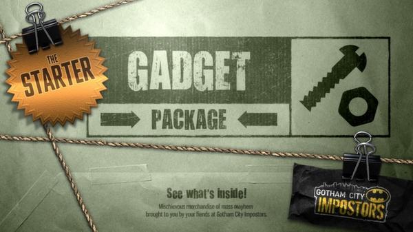 Gotham City Impostors Free to Play: Gadget Pack - Starter  (DLC)