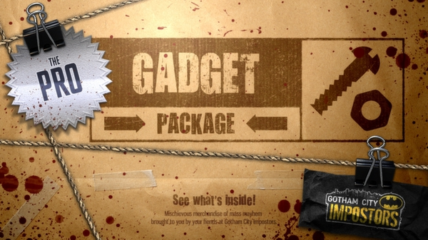 Gotham City Impostors Free to Play: Gadget Pack - Professional  (DLC)
