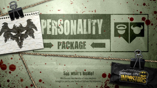 Gotham City Impostors Free to Play: Personality Pack  (DLC)