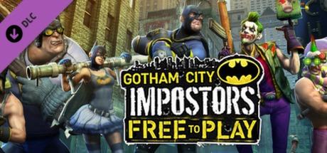 Gotham City Impostors Free to Play: Dress-Up Pack