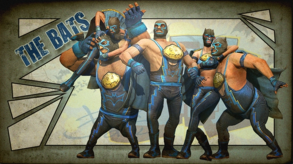 Gotham City Impostors Free to Play: Luchador Costume  (DLC)