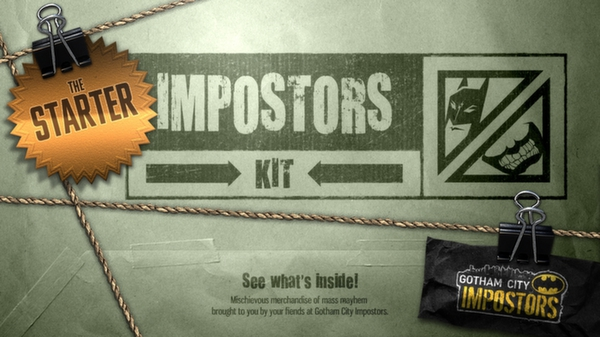 Gotham City Impostors Free to Play: Starter Impostor Kit  (DLC)