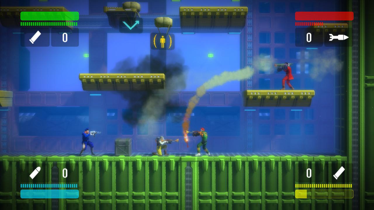 Bionic Commando: Rearmed Screenshot 2