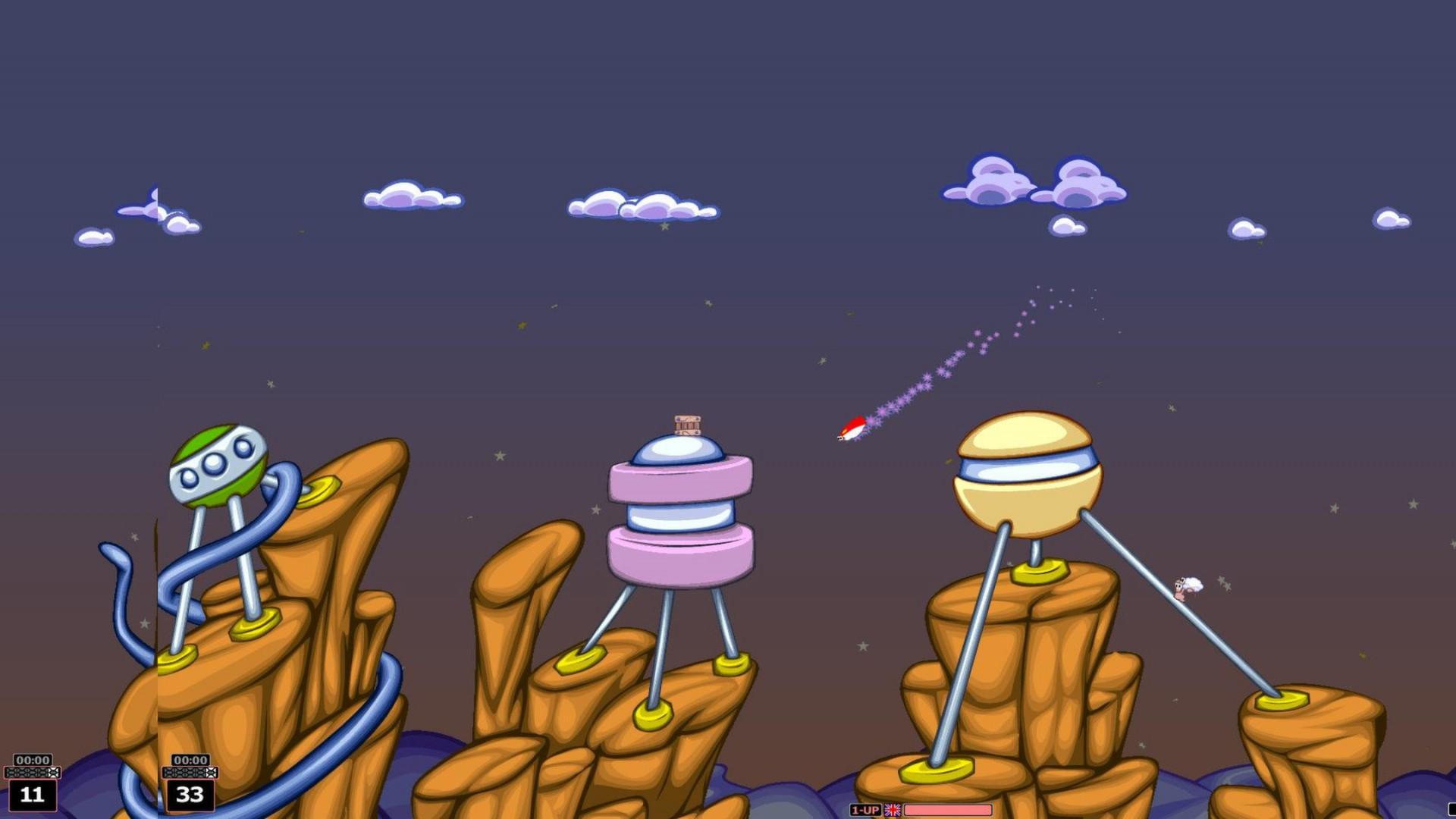 Worms Armageddon screenshot 2
