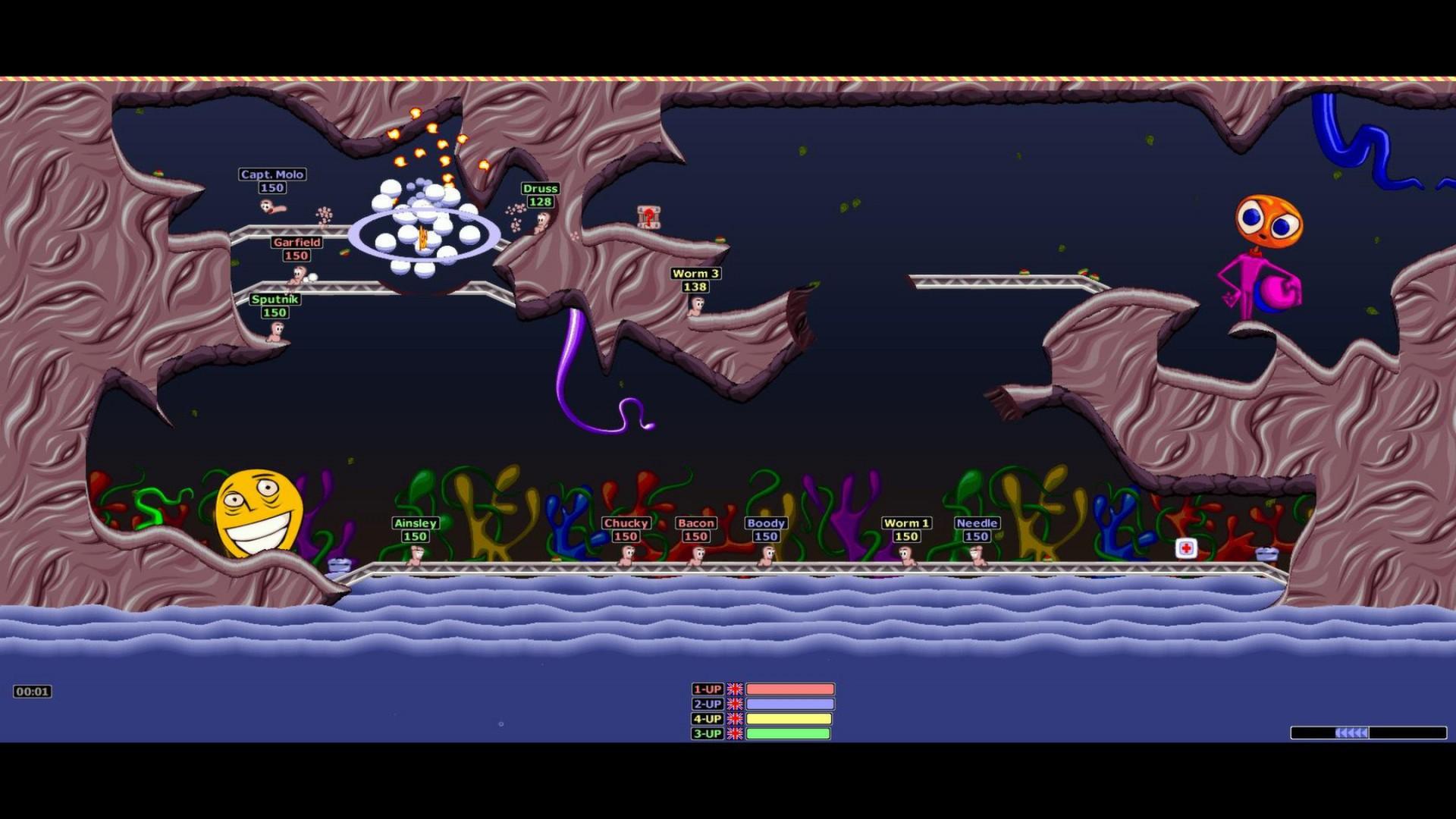 Worms Armageddon screenshot 3