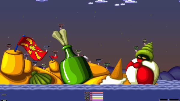 Screenshot of Worms Armageddon