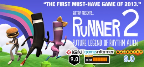 BIT.TRIP Presents... Runner2: Future Legend of Rhythm Alien Steam Game
