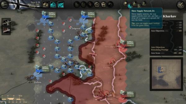 скриншот Unity of Command: Stalingrad Campaign 1