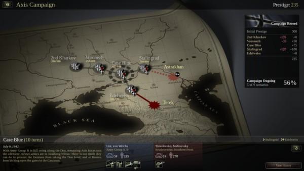 скриншот Unity of Command: Stalingrad Campaign 3