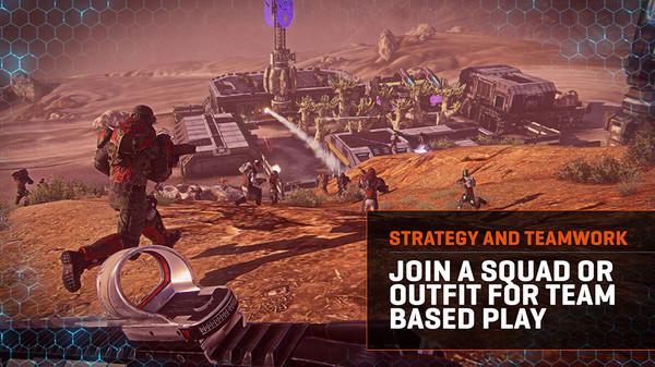 Скриншот из PlanetSide 2