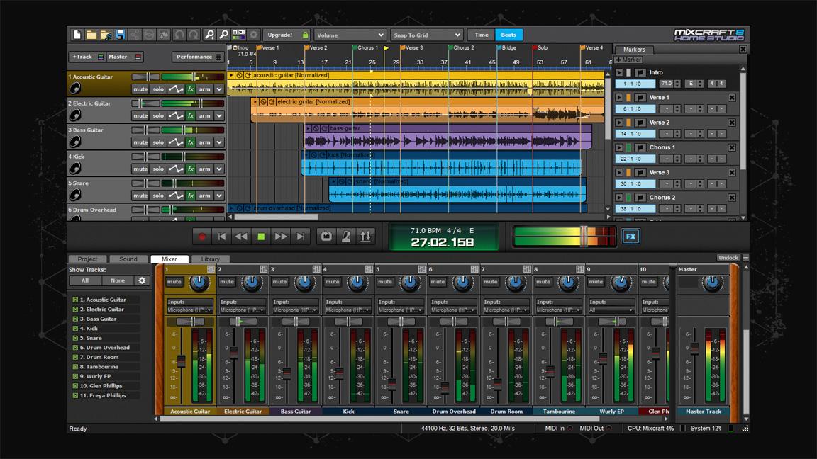 mixcraft 8 home studio steam