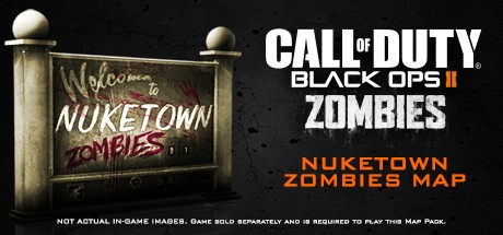 Call of Duty: Black Ops II - Nuketown Zombies Map