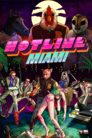 Hotline Miami poster image on Steam Backlog