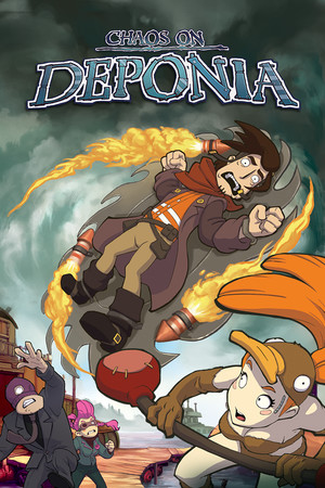 Chaos on Deponia poster image on Steam Backlog